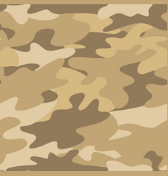 seamless camouflage pattern military background vector image