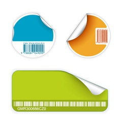 fresh labels vector image