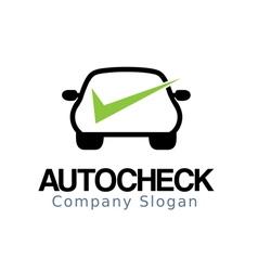 Auto Car Check Design vector image