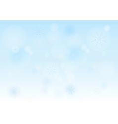 Winter Bokeh 005 vector image vector image
