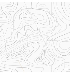 Seamless light topographic map vector