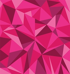 Abstract Pink Triangle Geometrical Background vector image vector image