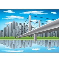 City vector image vector image