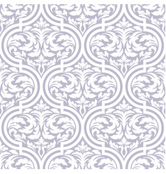damask seamless pattern background classical vector image