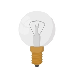 Light bulb icon cartoon style vector image vector image