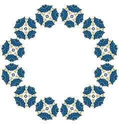 Deorative circle vector image