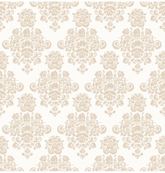 Damask seamless floral pattern vector