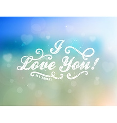 Romantic valentines background vector