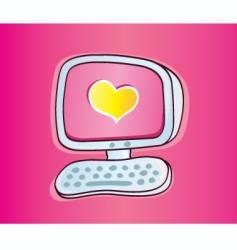 Online love vector