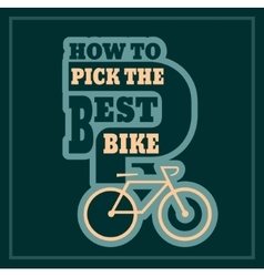 How to pick the best bike text vector
