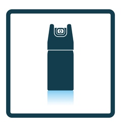 Pepper spray icon vector