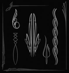 pinstripe015 vector image vector image