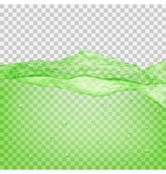 Transparent water wave vector