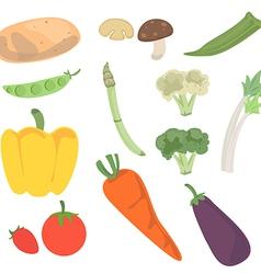 vegetable2 vector image