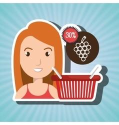 character buy discount fruit vector image