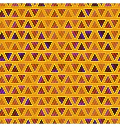 Seamless abstract triangles background vector