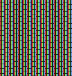 Analog TV Screen Close Up Texture vector image