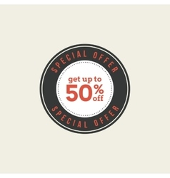 Big Sale Label vector image