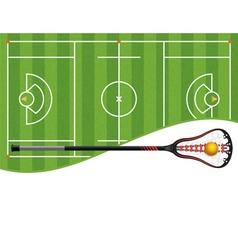 Lacrosse copyspace vector