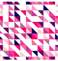 Tile triangle mosaic wrapping surface background vector image vector image