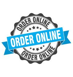 Order online stamp sign seal vector