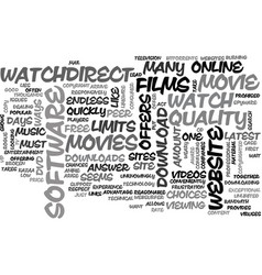 A good website to watch movies online text word vector