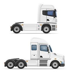 Cargo trucks 04 vector