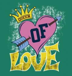 love illustration vector image