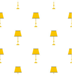 Floor lamp pattern seamless vector
