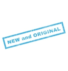 New and original rubber stamp vector