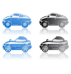 sport cars vector image vector image