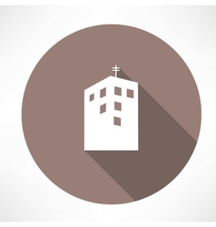 Townhouse icon vector image