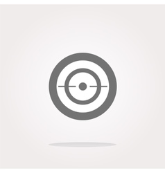 target sign icon Pointer symbol Modern UI vector image