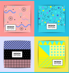 Layout pattern abstract background stylish vector