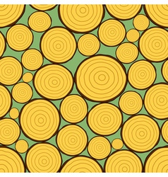 Firewood pattern vector image