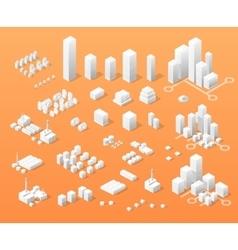 Print isometric vector image
