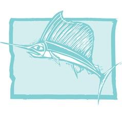 Swordfish vector image