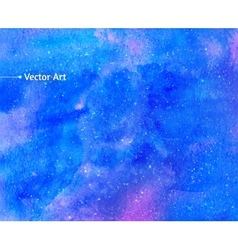 Watercolor universe vector image