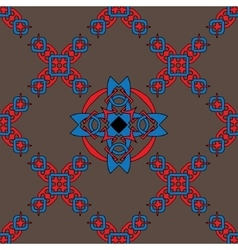 beautiful background with celtic pattern vector image