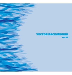 Abstract background in blue shades eps10 vector