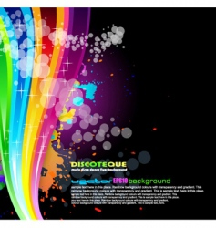 Rainbow spectrum background vector