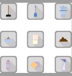 Bathroom flat icon vector