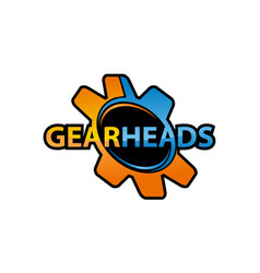 Gear heads vector