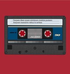 Retro tape vector