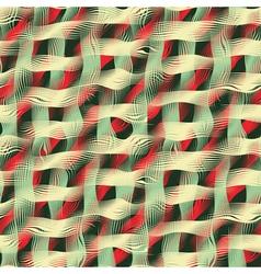 fabric print vector image