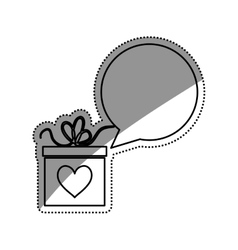 Romantic heart concept vector image