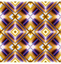 seamless pattern of rhombuses vector image