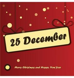 25 december day vector