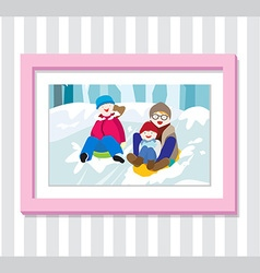 Family play4 photo vector