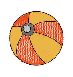 Ball icon image vector